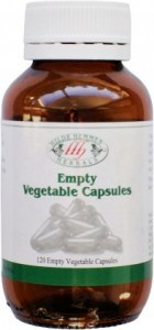 Hilde Hemmes Empty Vegetable Capsules