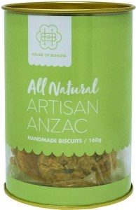 House of Biskota All Natural Artisan Anzac Biscuits 160g