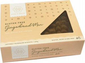 House of Biskota Gluten Free Gingerbread Men 200g