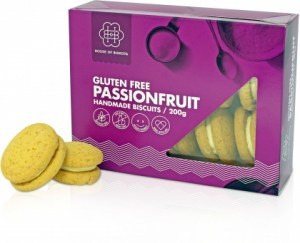 House of Biskota Gluten Free Passionfruit Biscuits 200g