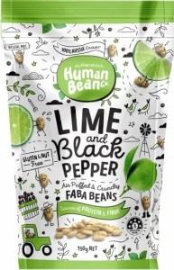Human Bean Co Lime & Black Pepper Faba Beans  150g