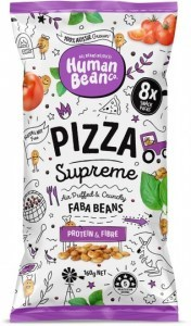Human Bean Co Pizza Supreme Multipack (8x20g) Faba Beans  160g