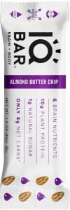 IQ Bar Brain + Body Almond Butter Chip  45g DEC21