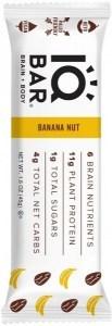 IQ Bar Brain + Body Banana Nut Bar  45g JUN22