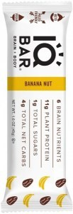 IQ Bar Brain + Body Banana Nut Bar  45g
