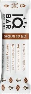 IQ Bar Brain + Body Chocolate Sea Salt  45g APR22