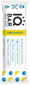 IQ Bar Brain + Body Lemon Blueberry Bar  45g