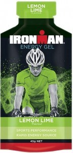 Ironman Energy Gel Lemon Lime 20x45g