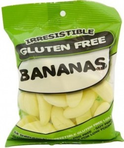 Irresistible Lollies Bananas 100g