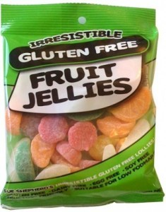 Irresistible  Fruit Jellies 160g