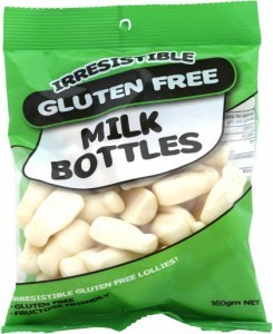 Irresistible  Milk Bottles 160g