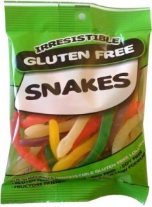 Irresistible Lollies Snakes 160g