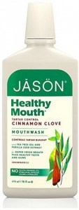 Jason Healthy Mouth Cinnamon Clove Tartar Control Mouthwash 473ml