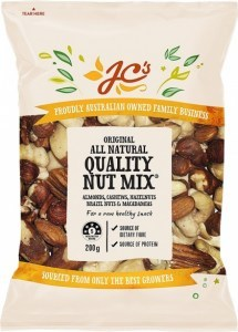 JC's All Natural Quality Mix Nuts 200g