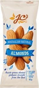 JC's Australian Natural Almonds 45g