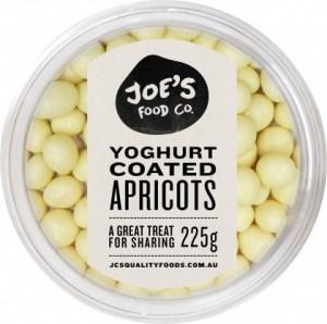 Joe's Food Co Yoghurt Coated Apricots 225g