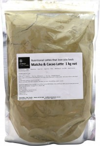 Jomeis Fine Foods Organic Matcha Cacao Latte  1kg