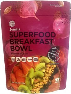Jomeis Superfood Breakfast Bowl Beetroot & Cacao Powder  240g