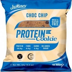 Justine's Complete Protein Cookie Choc Chip 64g