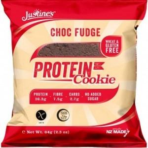 Justine's Complete Protein Cookie Choc Fudge 64g