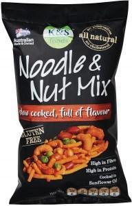 K & S Noodle & Nut Mix G/F 150g
