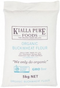 Kialla Organic Buckwheat Flour 5Kg