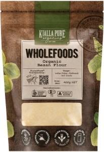 Kialla Pure Organics Organic Besan Flour  400g
