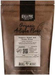 Kialla Pure Organics Organic Bread and Pizza Flour 700g