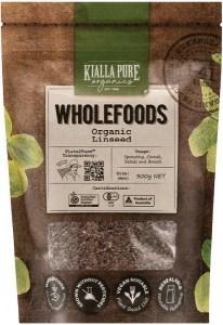 Kialla Pure Organics Organic Linseed  300g