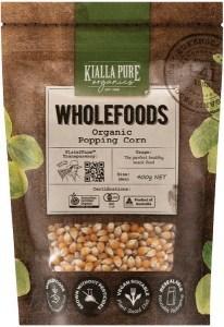 Kialla Pure Organics Organic Popping Corn  400g