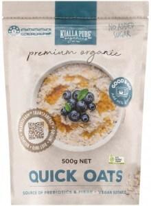 Kialla Pure Organics Organic Quick Oats 500g