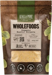 Kialla Pure Organics Organic Rustic Polenta  400g