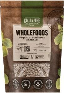 Kialla Pure Organics Organic Sunflower Kernels  300g