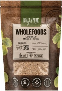 Kialla Pure Organics Organic Wheat Bran 100g
