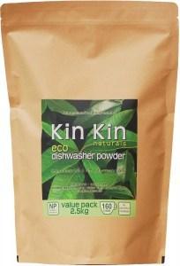 Kin Kin Naturals Eco Dishwasher Powder Lime & Lemon Myrtle 2.5kg Pouch