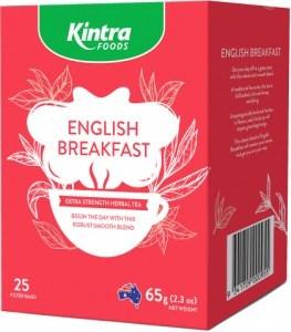 Kintra Foods English Breakfast 25Teabags