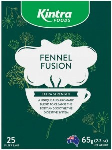 Kintra Foods Fennel Fusion Tea 25Teabags