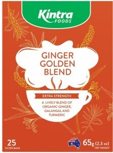 Kintra Foods Ginger Golden Blend Tea 25Teabags