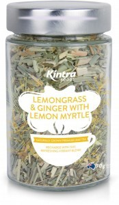 Kintra Foods Loose Leaf Lemongrass, Ginger & Lemon Myrtle 70g
