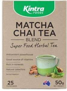 Kintra Foods Matcha Chai 25 Teabags