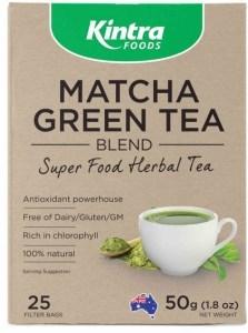 Kintra Foods Matcha Green 25 Teabags