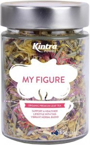 Kintra Foods Organic My Figure Leaf Tea 65g Jar