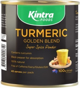 Kintra Foods Turmeric Golden Blend Latte Powder 100g