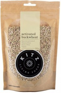 Kitz Living Foods Organic Activated Buckwheat  260g