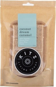 Kitz Living Foods Organic Coconut Dream Caramel  150g