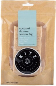 Kitz Living Foods Organic Coconut Dream Lemon Fig  150g