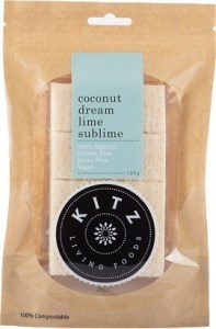 Kitz Living Foods Organic Coconut Dream Lime Sublime  150g