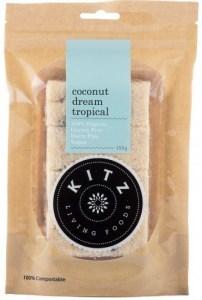 Kitz Living Foods Organic Coconut Dream Tropical G/F 150g