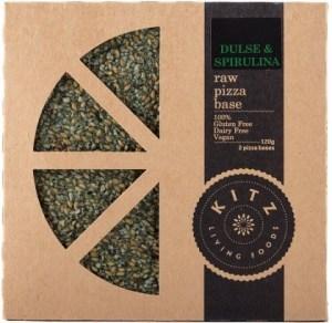 Kitz Living Foods Organic Dulse & Spirulina Raw Pizza Base 120g