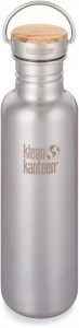 Klean Kanteen Brushed Stainless with Bamboo Cap 798ml